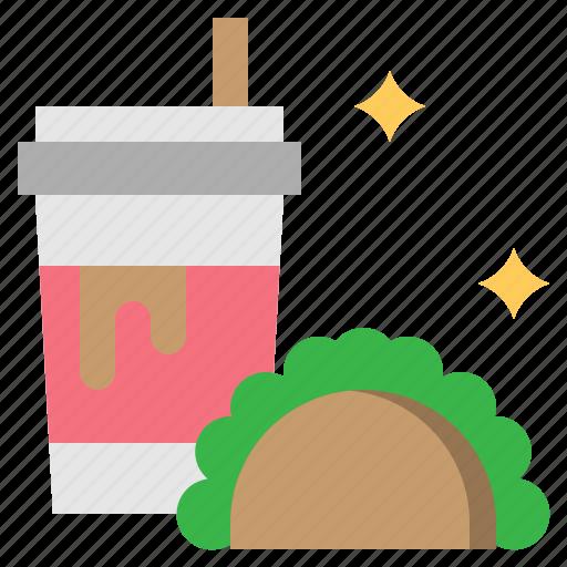 drink, food, sandwich icon