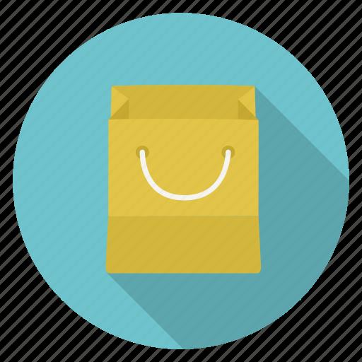 bag, paper bag, shopping icon