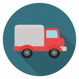 shipping, shopping, truck icon