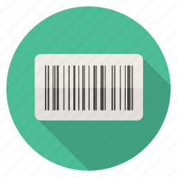 bar code, price, shopping icon