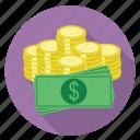 shopping, money, coin, dollar, wealth, cash, finance