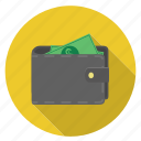 cash, money, payment, saving, shopping, wallet icon