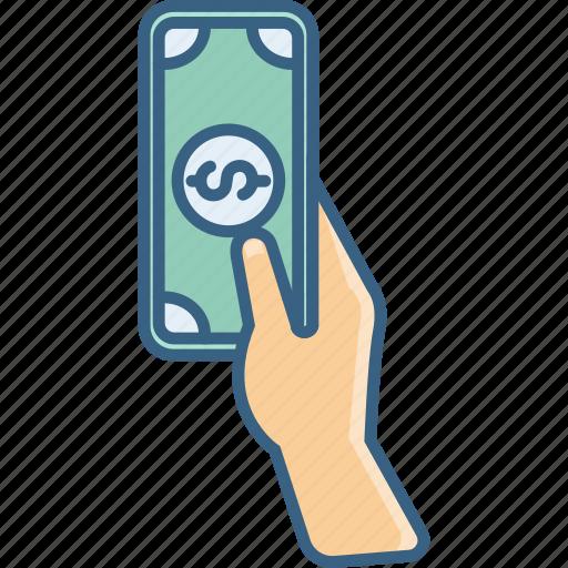 cash, currency, dollar, financial, money, savings, shopping icon