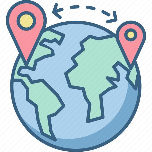 country, gps, location, map, maps, national, world icon