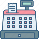 billing, cash, counter, machine, money, payment, receipt icon