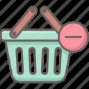 cart, remove, basket, delete, shopping