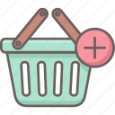add, buy, cart, new, plus, shop icon