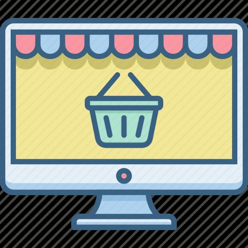 cart, internet, online, shop, shopping, web, website icon