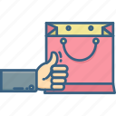bag, business, buy, like, sale, shop, shopping icon