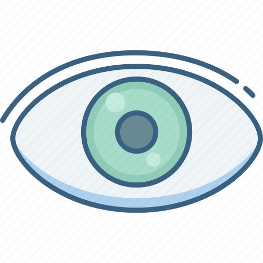 eye, find, optimization, search, view, vision icon