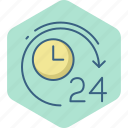 alarm, hours, time, timer, twenty, watch icon