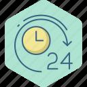hours, twenty, watch, alarm, time, timer