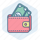 bank, cash, finance, money, pay, payment, wallet icon