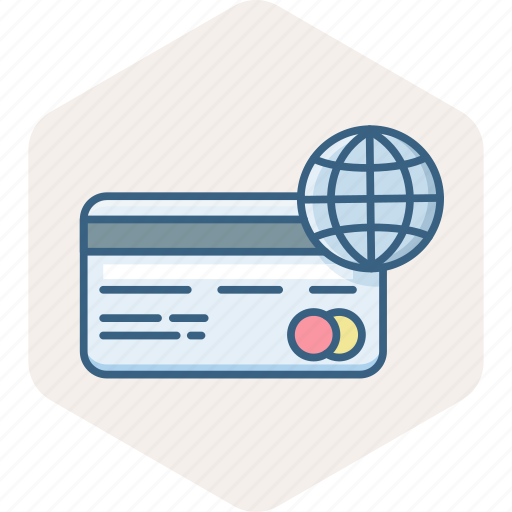 card, debit, online, pay, payment, shopping, web icon