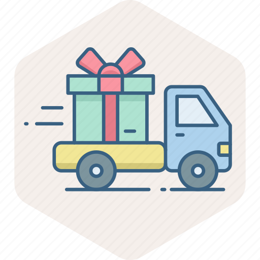 delivery, free, logistic, shipping, transport, truck, vehicle icon