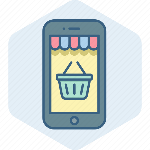 app, cart, ecommerce, mobile, shop, shopping, site icon
