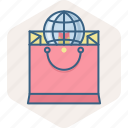 abroad, buy, ecommerce, online, purchase, sale, shopping icon