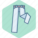 clothing, fashion, lower, lowers, man, pant, pants icon