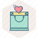add, basket, sale, shopping, store, wishlist icon