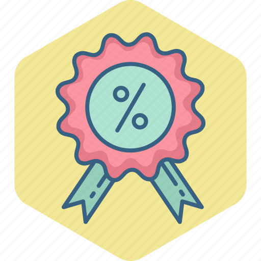 discount, label, offer, percentage, price, sale icon