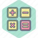accounting, calculation, calculator, finance, math, mathematics, maths icon