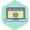 cart, ecommerce, online, shop, shopping, store, website icon