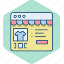 details, ecommerce, product, products, shopping, website icon