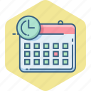 appointment, calendar, date, day, month, schedule icon