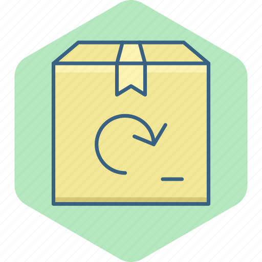 box, gift, logistic, package, parcel, product icon