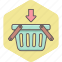 add, cart, ecommerce, empty, items, shopping icon