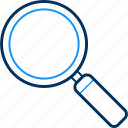 business, find, search, seo, view icon