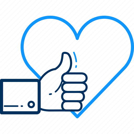 Thumb, wishlist, direction, heart, like, up icon - Download on Iconfinder