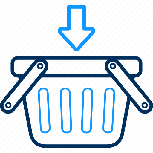 cart, items, shop, shopping icon