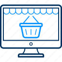 cart, online, shop, shopping, website icon