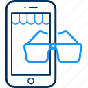 app, mobile, phone, spects icon