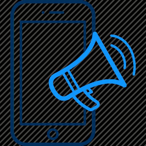 advertisement, announce, announcement, mobile icon