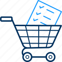 basket, business, buy, cart, items, shopping, trolley icon