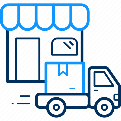 delivery, free, truck, vehicle, warehouse icon