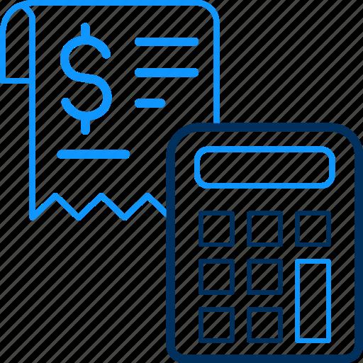 calc, calculator, dollar, finance, money icon