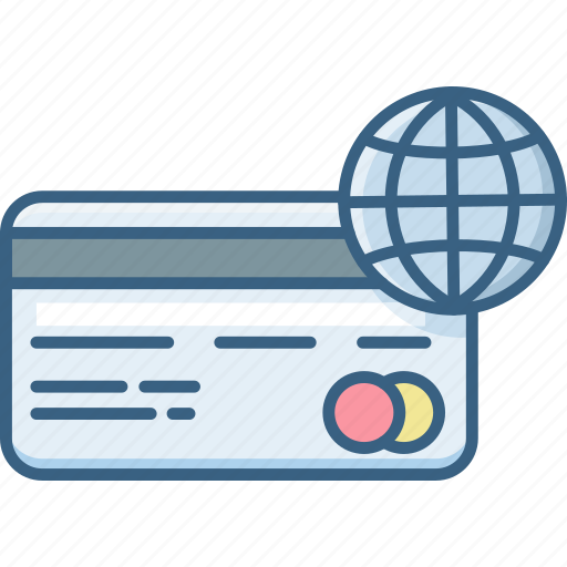 card, credit, internet, online, pay, payment, web icon