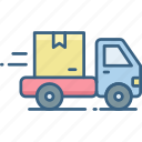 delivery, free, parcel, shipping, transport, transportation, vehicle icon