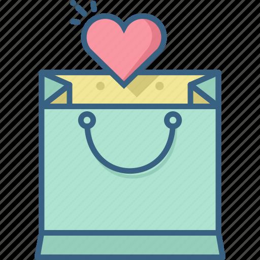 bag, romantic, sale, shop, shopping, wishlist icon