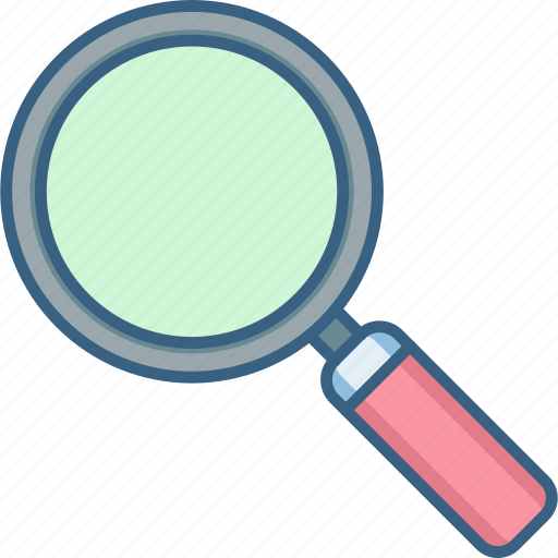 find, glass, magnifier, magnifying, optimization, search, zoom icon