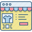cart, details, ecommerce, online, shop, shopping, website icon