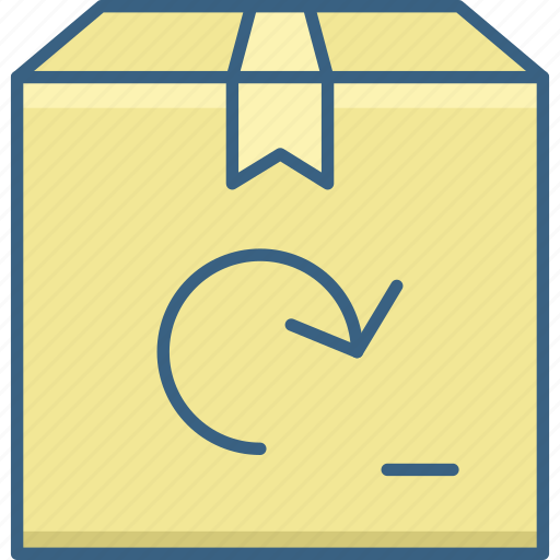 box, gift, package, parcel, present, product icon