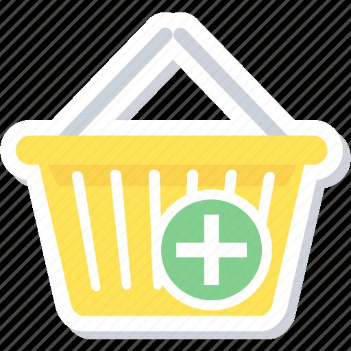 add to basket, basket, buy, shopping icon
