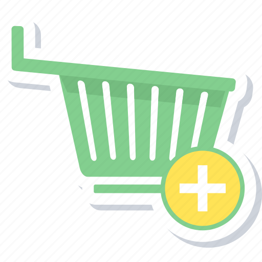 add to cart, buy, shopping, trolley icon