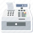billing, counter, machine, printer, printing icon