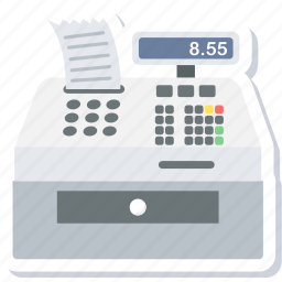 billing, counter, machine, printer, printing icon