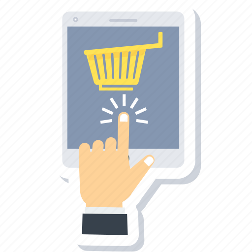 buy, cart, click, ecommerce, online, shopping icon